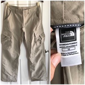 The North Face Lightweight Cargo Pants Nylon sz 10